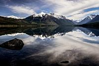 Time to Reflect, Lake McDonald, Glacier National Park, , Montana, USA
