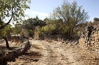 Village destroyed in a Spainsh Civil war. Teruel province, Aragón, Spain