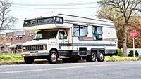 Ford Econoline good for family travel , Philadelphia, USA.