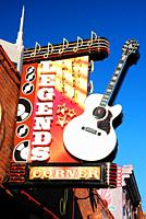 Legends Corner is one of several live country music venues on Broadway in Nashville, Tennessee.