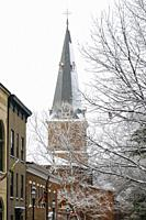 St. Anne's Episcopal Chruch in Annapolis Maryland. USA.