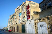 Sebastian Bastion of Valletta. Malta.