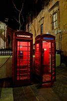telephone box in Valletta, Malta. A british heritage.