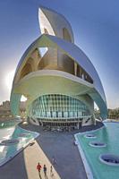Spain, Valencia City, The City of Arts and Science, Calatrava architect, The Auditorium Bldg.