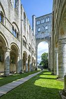 Jumièges Abbey ruins, Seine-Maritime, Normandie, France, Europe.