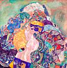 Gustav Klimt - Baby (Cradle).