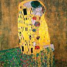 Gustav Klimt The Kiss.