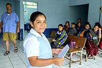 centro de salud de la Taña, Quiche, República de Guatemala, América Central.
