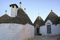 Alberobello, district of Bari, Puglia, Apulia, Italy, Europe, Trullo, typical village house.