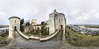 Chinon Castle. Chinon, France