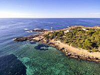 punta Plana, s'Estelella, llucmajor, Mallorca, balearic islands, Spain.