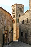 Curch of Santa María la Mayor. Trujillo. Cáceres province. Extremadura. Spain