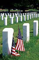 Graves, Fort Smith National Cemetery, Arkansas.