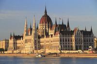 The Parliament Building, Budapest, Hungary.