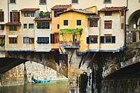 Ponte Vecchio, Florence, Italia.