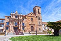 Palacio del Intendente e Iglesia de la Inmaculada Concepción. La Carolina. Jaen Province. Andalusia. Spain.