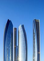Etihad Towers, Abu Dhabi, United Arab Emirates.