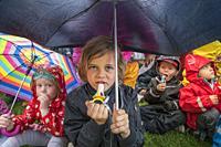 Summer celebration, Independence Day, Reykjavik, Iceland.