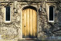 Classical style front door.