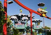 Isla Magica (Magic Island) Theme Park, The Fountain of Youth - Zum Zum the Bees, Seville, Region of Andalusia, Spain, Europe.