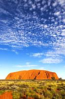Ayers Rock or Uluru, Uluru-Kata Tjuta National Park, Northern Territory, Australia.