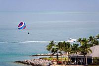 Parasailing at Key West Florida.