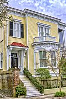 Queen Anne style house in Charleston, South Carolina.