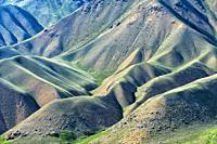 Naryn gorge, Naryn Region, Kyrgyzstan.