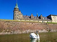 Kronborg Castle (location of the Shakespeare´s tragedy Hamlet) in Elsinore, Denmark.