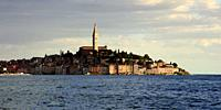 Rovinj, an old Picturesque town in Istria Croatia.