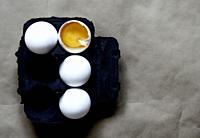Image on an egg carton.