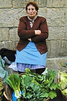 Market. Santiago de Compostela. Galicia. Spain.