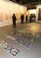 'Feria Internacional de Arte Contemporaneo' (ARCO) at Ifema on February 21, 2018 in Madrid, Spain. (Photo by Angel Manzano)