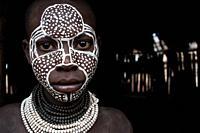 Boy from the Karo tribe ( Ethiopia).