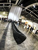 March 30th, 2018 - Exhibitions at the Art Basel 2018 show, held at the Hong Kong Convention and Exhibition Centre, Wan Chai, Hong Kong.