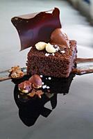 Galician cuisine: Chocolate dessert