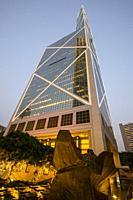 Central Financial District, Hong Kong, China.