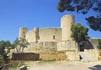 Bellver castle. Palma de Mallorca, Balearic Islands, Spain.