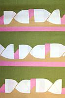 Detail of vintage fabric pattern.