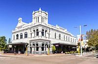 Facade of the Subiaco Hotel, Subiaco, Western Australia, Australia.