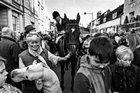 The Southdown and Eridge Hunt Hold Their Traditional Boxing Day Meeting In The High Street, Lewes, Sussex, UK.