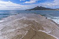 Isleta del Moro, Cabo de Gata, Almeria Province, Andalusia, Spain.