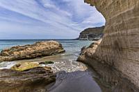 Cala del Plomo, Cabo de Gata, Almeria Province, Andalusia, Spain.