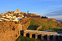 The walled city of Estremoz. Alentejo, Portugal.