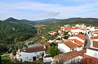 The historic village of Alegrete. Alentejo, Portugal.