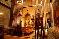 Mayor Prioral Church of Saint Peter. Interior. Reus, Tarragona, Catalonia, Spain, Europe.