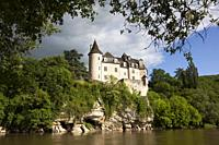 La Treyne Castle, Lot department, Occitanie, France.