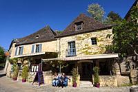 Restaurant in Beynac-et-Cazenac, Dordogne, Nouvelle Aquitaine, France.