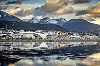 Ushuaia, Tierra del Fuego, Patagonia, Argentina.