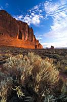Arches National Park, Grand County, Utah, Usa, America.